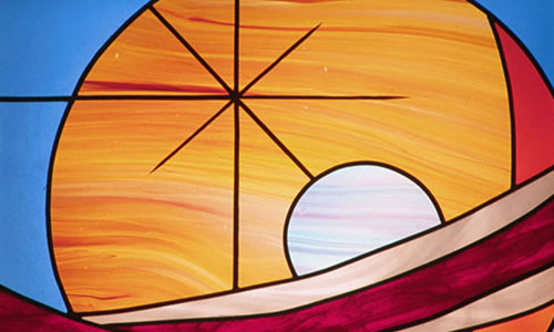 Post image for The Bible in Stained Glass – Heavens