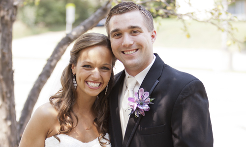 Post image for Danielle & Patrick Glenn, Physical Therapist and Financial Analyst